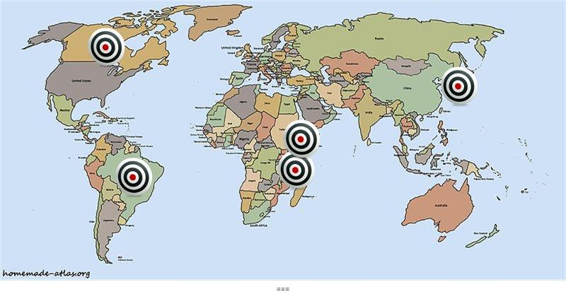 Refugee Camps Around The World Map.4 Where Refugee Camp Readiness